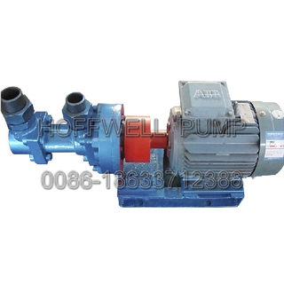 Magnetic Coupling Asphalt Transfer Three Spindle Screw Pump 3G25X4