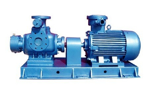 CE Approved W. V Twin Screw Oil Pump