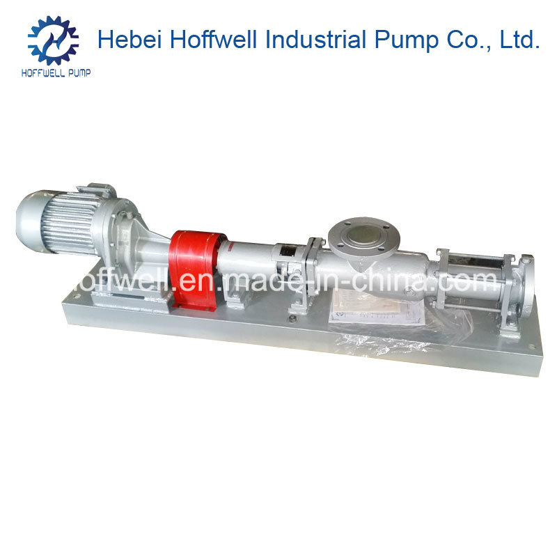 CE Approved G35-2 Mono Single Screw Sludge Pump