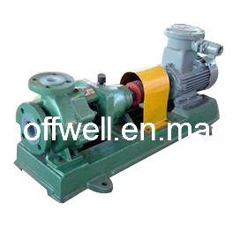 IHF Fluoro Plastic Acid Proof Centrifugal Chemical Pump