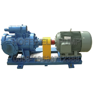 CE Approved Double Suction Fuel Oil Triple Screw Pump