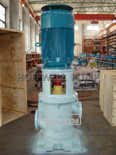 Vertical Double Suction Triple Screw Pump