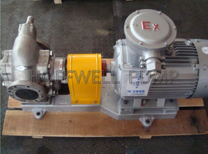 Stainless Steel KCB External Gear Pump For Oil
