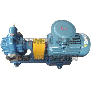 Bronze KCB Fuel Oil External Gear Pump