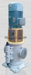 High Quality 3GCLS Vertical Three Triple Screw Fuel Oil Pump